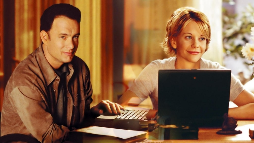 映画「ユーガットメール」メグライアンはノーブラか?あらすじ、ネタバレ感想