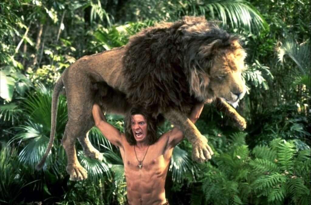 「ジャングル・ジョージ」笑えるターザン映画!あらすじ、感想、ムキムキあり。