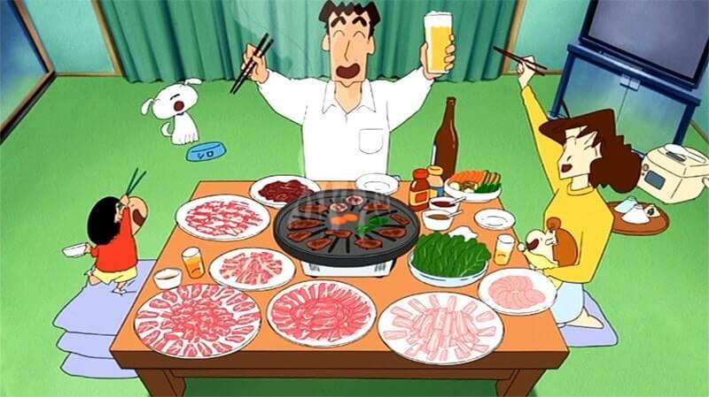 クレヨンしんちゃん 焼き肉
